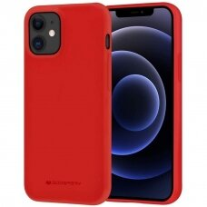 Case Mercury Soft Jelly Case Apple iPhone 12/12 Pro red