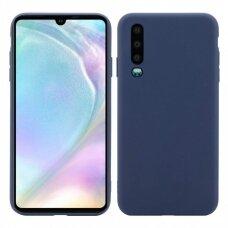 Case Mercury Soft Jelly Case Huawei P30 dark blue