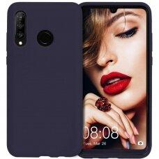 Case Mercury Soft Jelly Case Huawei P30 Lite/Nova 4E dark blue