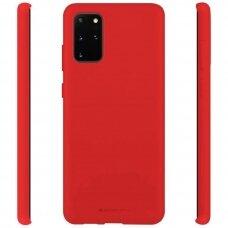 Case Mercury Soft Jelly Case Samsung G986 S20 Plus red