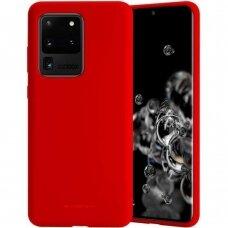 Case Mercury Soft Jelly Case Samsung G988 S20 Ultra red