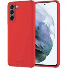 Case Mercury Soft Jelly Case Samsung S21 Plus red