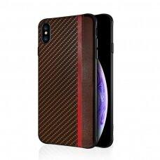 Case Mulsae Carbon Samsung G960 S9 brown