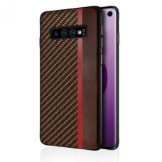 Case Mulsae Carbon Samsung G970 S10e brown