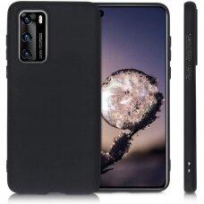 Case Rubber TPU Huawei P40 black