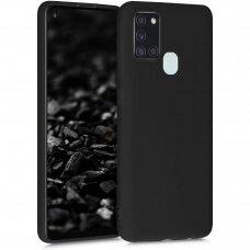 Case Rubber TPU Samsung A217 A21s black