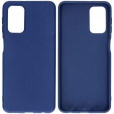 Case Rubber TPU Samsung A325 A32 4G dark blue