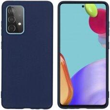 Case Rubber TPU Samsung A525 A52/A526 A52 5G dark blue