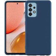 Case Rubber TPU Samsung A725 A72 dark blue