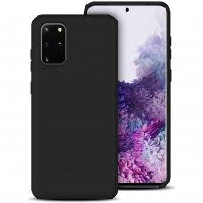 Case Rubber TPU Samsung G986 S20 Plus/S11 black