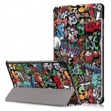 Case Smart Leather Huawei MediaPad T3 10.0 graffiti