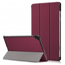 Case Smart Leather Samsung P610/P615 Tab S6 Lite 10.4 bordo