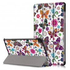 Case Smart Leather Samsung P610/P615 Tab S6 Lite 10.4 butterfly