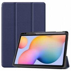 Case Smart Leather Samsung T970/T976 Tab S7 Plus 12.4 dark blue