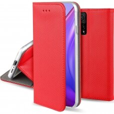 Case Smart Magnet Xiaomi Mi 10T 5G/Mi 10T Pro 5G red
