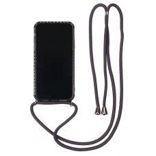 Case Strap Case Apple iPhone 12 Pro Max black