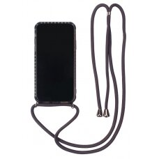 Case Strap Case Apple iPhone XR black