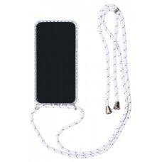 Case Strap Case Apple iPhone XR white