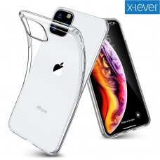 Case X-Level Antislip/O2 OnePlus 8 Pro clear