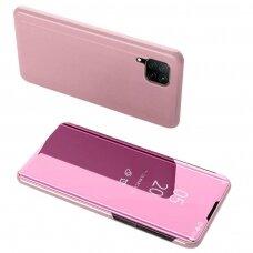 Clear View Case cover for Huawei P40 Lite / Nova 7i / Nova 6 SE pink (HWP40LT)