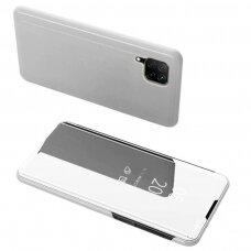 Clear View Case cover for Huawei P40 Lite / Nova 7i / Nova 6 SE silver
