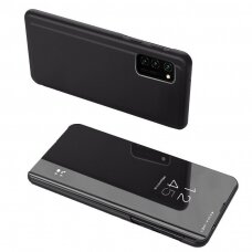 Clear View Case cover for Oppo Reno 4 black