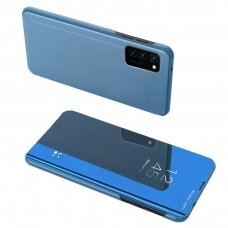 Clear View Case cover for Oppo Reno 4 blue