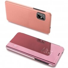 Clear View Case cover for Samsung Galaxy A20s pink
