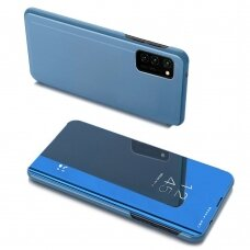 Clear View Case cover for Samsung Galaxy A32 5G blue