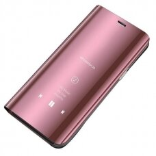 Clear View Case cover for Samsung Galaxy M30s / Galaxy M21 pink
