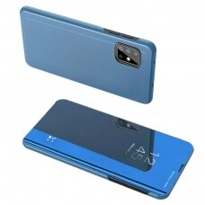 Clear View Case cover for Samsung Galaxy M31s blue