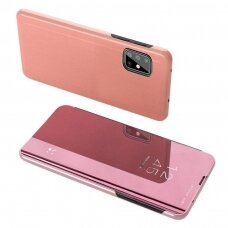 Clear View Case cover for Samsung Galaxy M31s pink