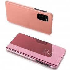 Clear View Case cover for Samsung Galaxy Note 20 Ultra pink