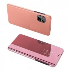 Clear View Case cover for Samsung Galaxy S20 FE 5G pink