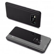 Clear View Case cover for Xiaomi Poco X3 NFC / Poco X3 Pro black