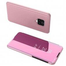 Clear View Case cover for Xiaomi Redmi 10X 4G / Xiaomi Redmi Note 9 pink