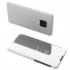 Clear View Case cover for Xiaomi Redmi 10X 4G / Xiaomi Redmi Note 9 silver