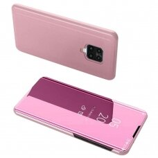 Clear View Case cover for Xiaomi Redmi Note 9 Pro / Redmi Note 9S pink