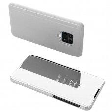 Clear View Case cover for Xiaomi Redmi Note 9 Pro / Redmi Note 9S silver