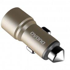 Dudao Universal Car Charger 2x USB 2.4A golden (R5 gold) (HUTL) (hutl)