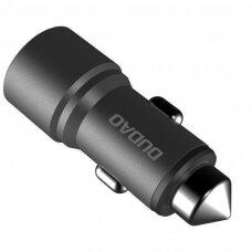 Dudao Universal Car Charger 2x USB 2.4A gray (R5 grey) (HUTL) (hutl)