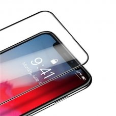 Dux Ducis All-Screen Tempered Glass Super Tough Screen Protector Full Coveraged with Frame for iPhone 11 / iPhone XR black  (IPO11)