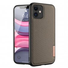 Dux Ducis Fino case covered with nylon material for iPhone 11 green