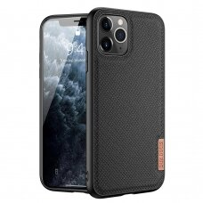 Dux Ducis Fino case covered with nylon material for iPhone 11 Pro Max black
