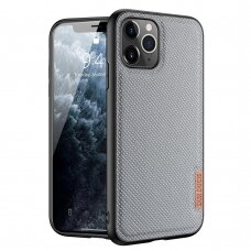 Dux Ducis Fino case covered with nylon material for iPhone 11 Pro Max blue