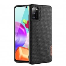 Dux Ducis Fino case covered with nylon material for Samsung Galaxy A41 black