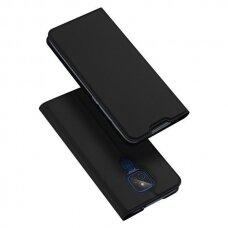 DUX DUCIS Skin Pro Bookcase type case for Motorola Moto G9 Play / Moto E7 Plus black