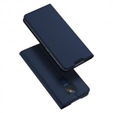 DUX DUCIS Skin Pro Bookcase type case for Motorola Moto G9 Play / Moto E7 Plus blue