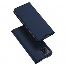 DUX DUCIS Skin Pro Bookcase type case for Oppo A73 5G / A53 5G blue