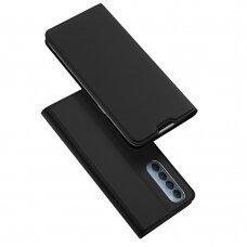 DUX DUCIS Skin Pro Bookcase type case for Oppo Reno 4 Pro 5G black